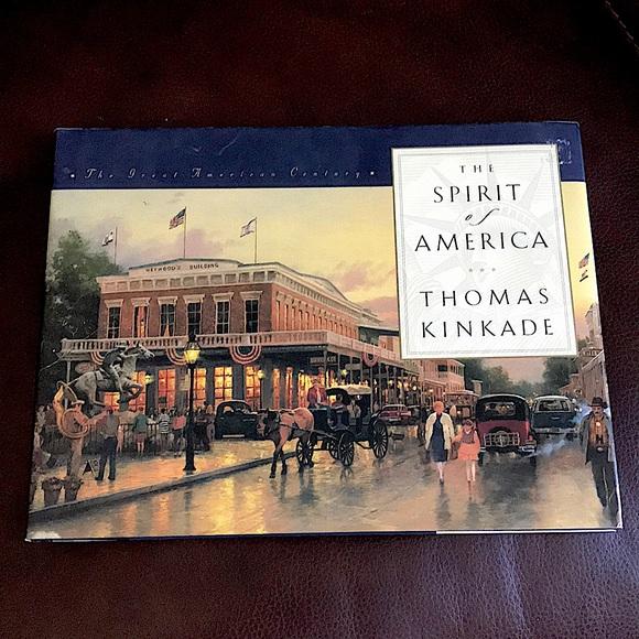 Thomas Kinkade The Spirit of America Book